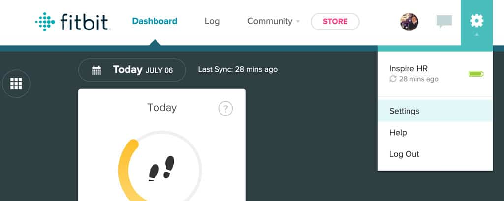 how to change your name using fitbit's website