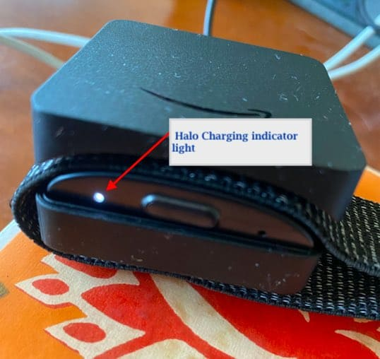 How to charge Amazon halo fitness tracker