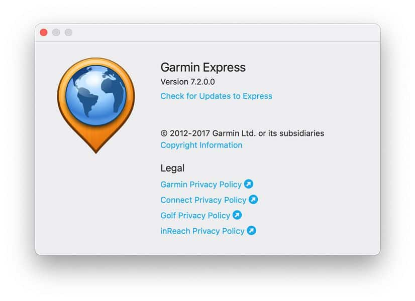 how to update Garmin Express on your Windows or Mac PC