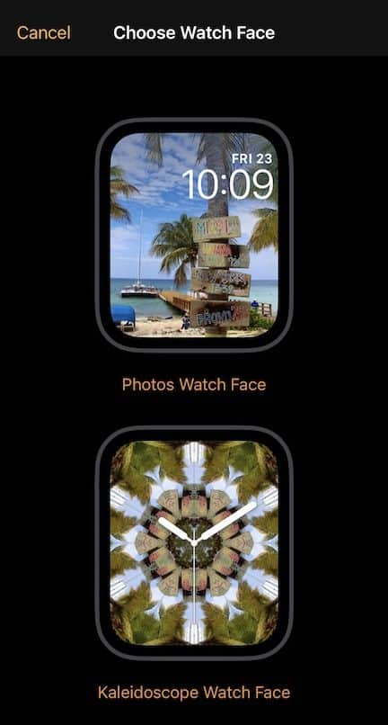 Creating a custom watch face on the iPhone