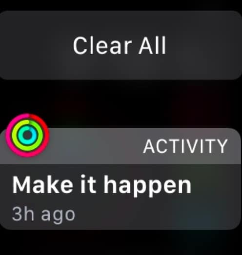 Clear all notifications on watchOS 7