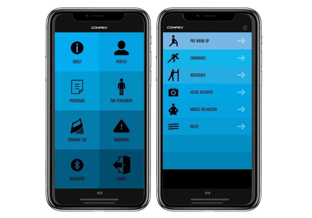 app for the COmpex Mini