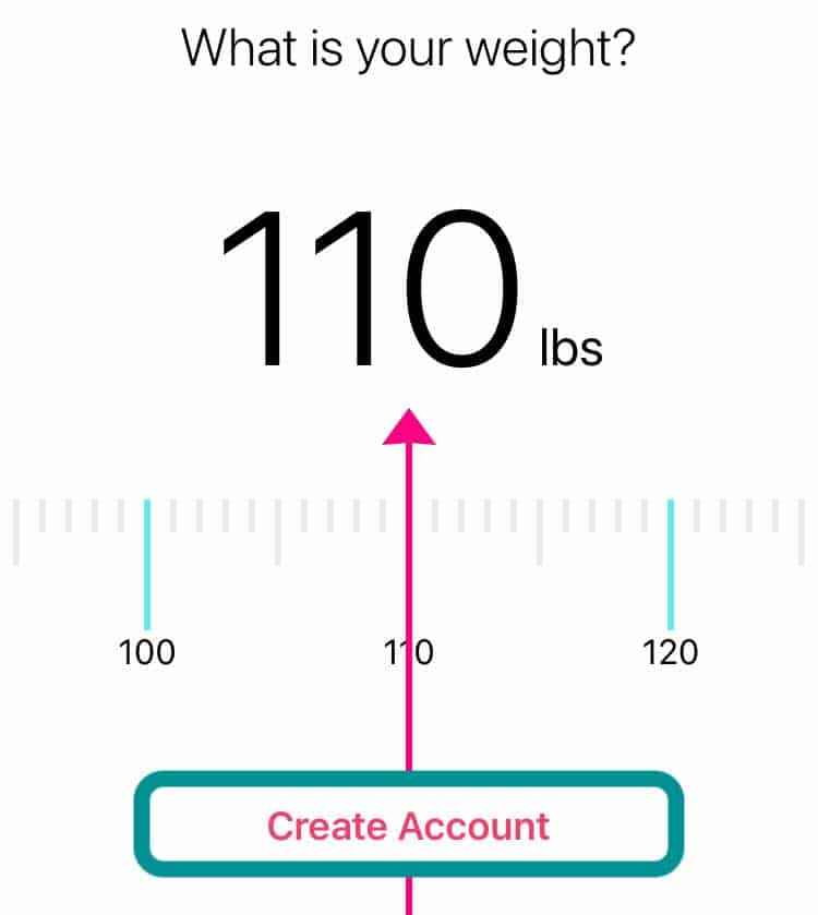 Fitbit app create an account