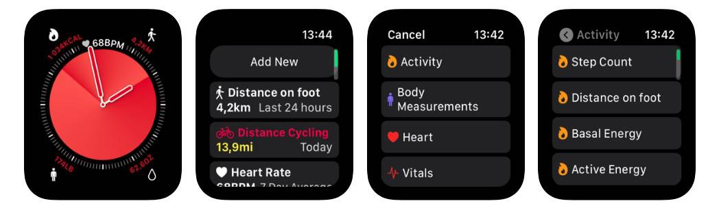 Health Glance for Apple Watch