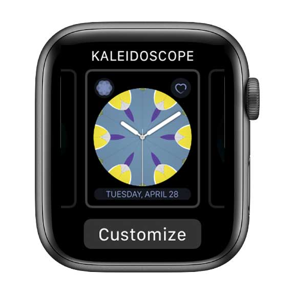 customize apple watch face with complications