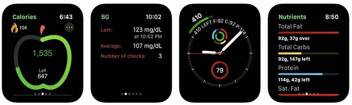 Diabetes Tracker for Apple Watch