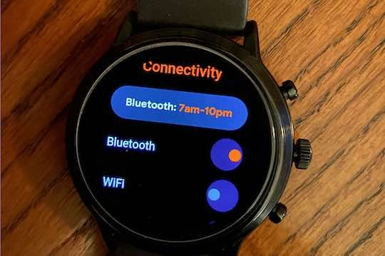 Adjust Bluetooth and Wi-Fi Settings for better battery