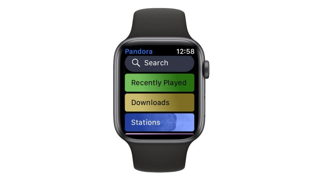 Pandora apple watch app downloads folder
