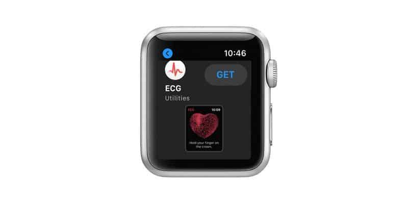 App Store on Apple Watch ECG utility app