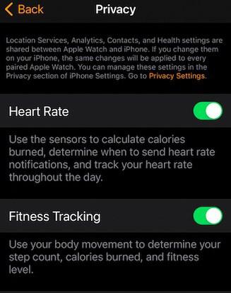 Apple watch no displaying calories fix