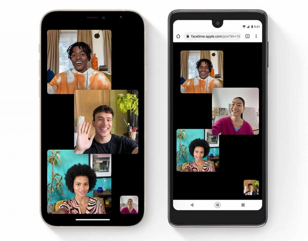 FaceTime now works with Android phones using FaceTime links sent via text message