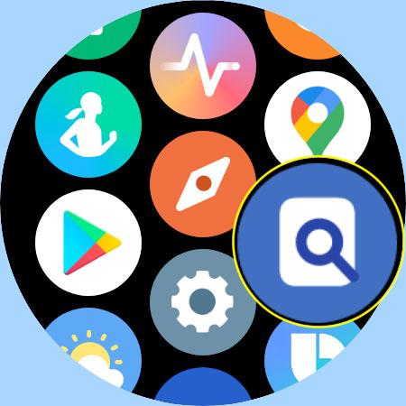 Samsung watch Find Phone app