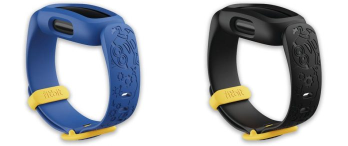 Minions bands and partnership with Fitbit Ace 3