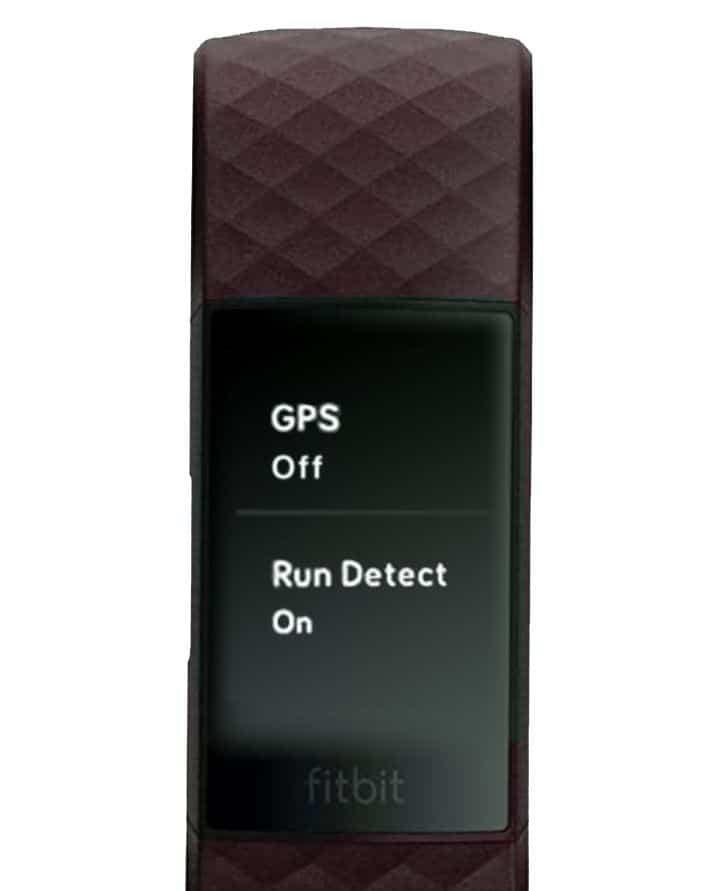 GPS off on Fitbit Charge 4 and Charge 3