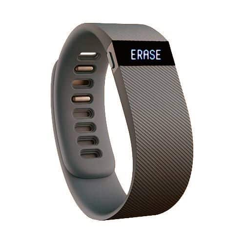 Erase factory reset on Fitbit charge