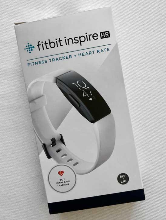 original Fitbit Inspire HR box