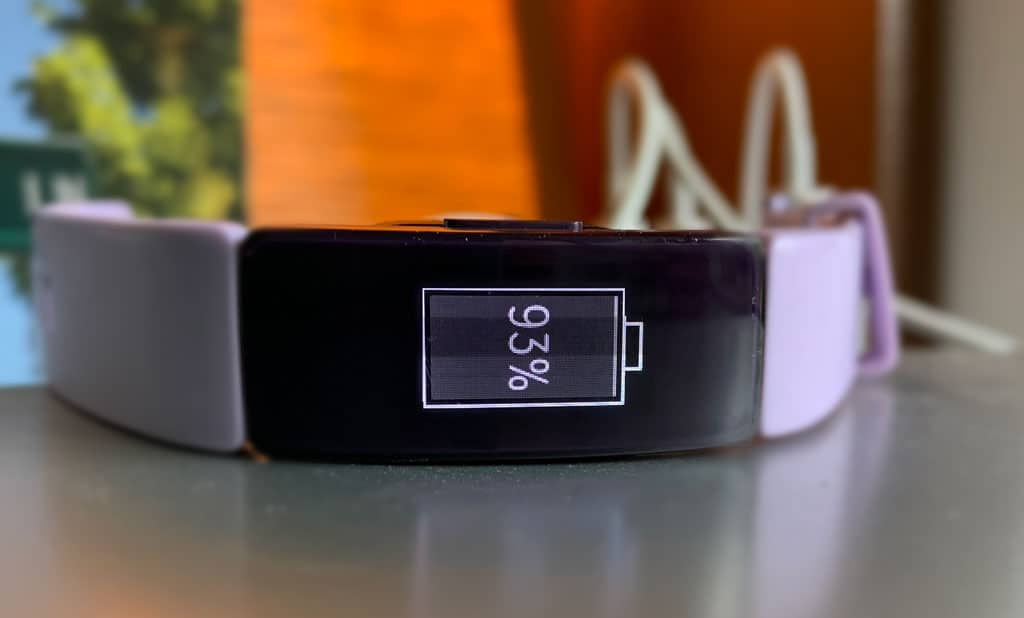 Fitbit charging
