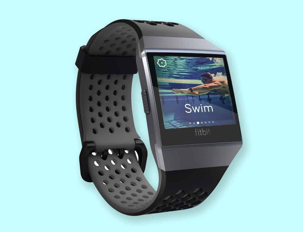 swim with Fitbit