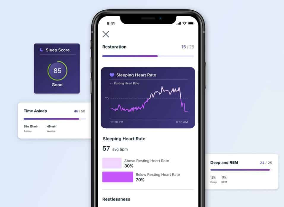 Fitbit premium sleep tracking extra data