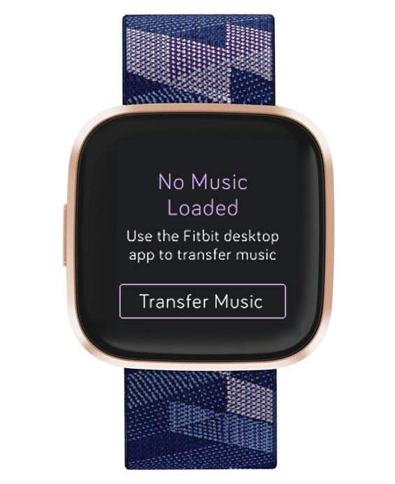 Transfer Music to Fitbit using Fitbit Connect App