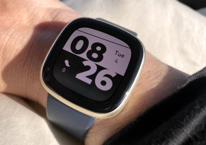 Step count shows as zero or is missing on Fitbit clock face