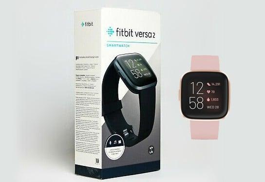Fitbit in the original packaging box
