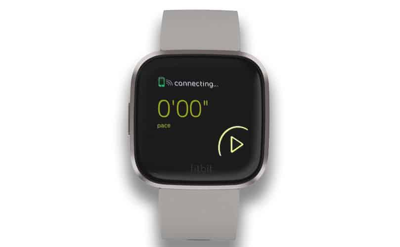 GPS stuck on connecting on Fitbit Versa