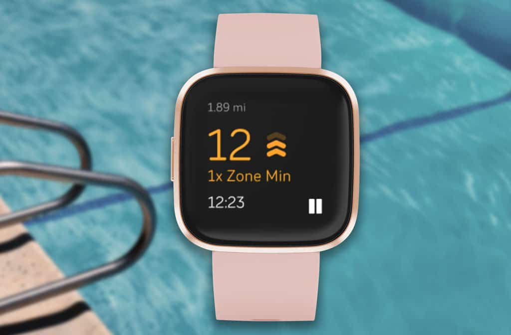Fitbit active zone minutes for swimming with Versa and Ionic