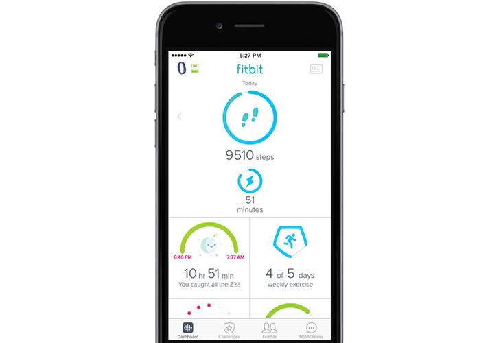 Kid View in Fitbit app