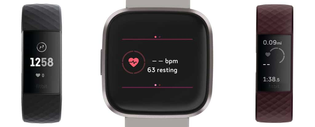 Fitbit heart rate monitor shows 0 or dashed line and zero