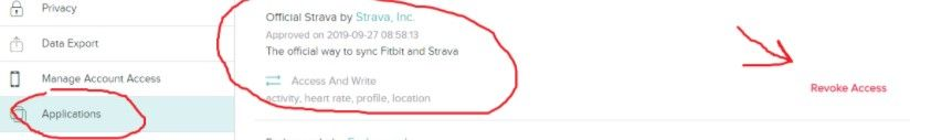Fitbit and Strava not Syncing