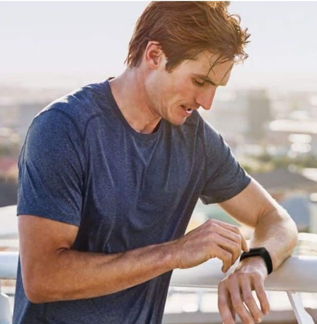 sweating a lot with your Fitbit