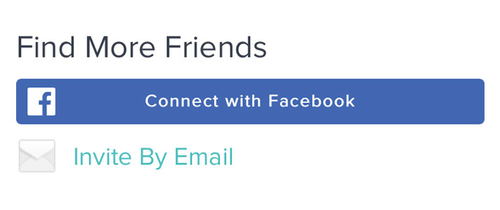Find More Friends using Fitbit's website and account dashboard