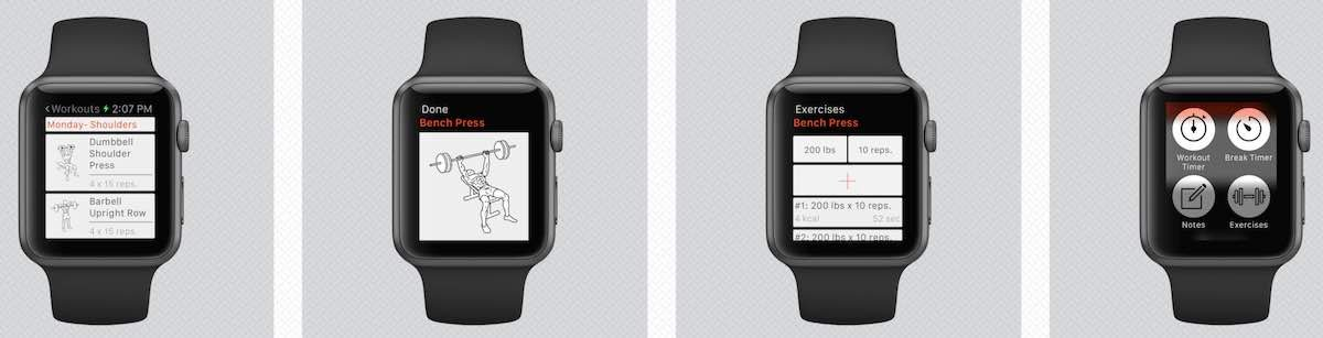 Weight Lifting on Apple Watch