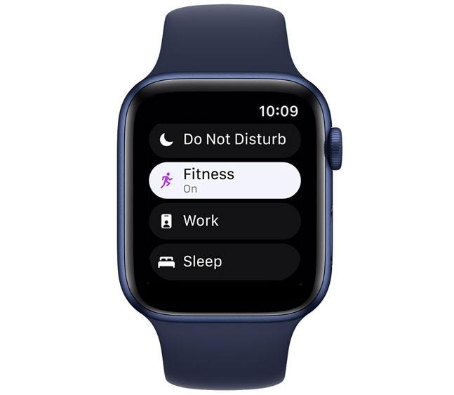 Apple Watch new updated Do Not Disturb feature called Focus