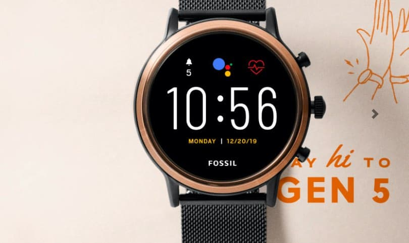 Fossil Gen 5 new software update