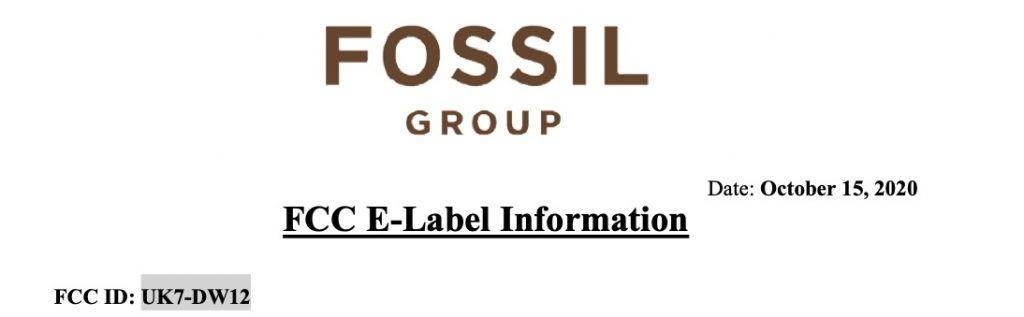 Fossil DW12 Smartwatch