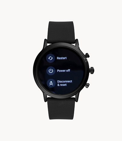 Reset and disconnect Fossil smartwatch