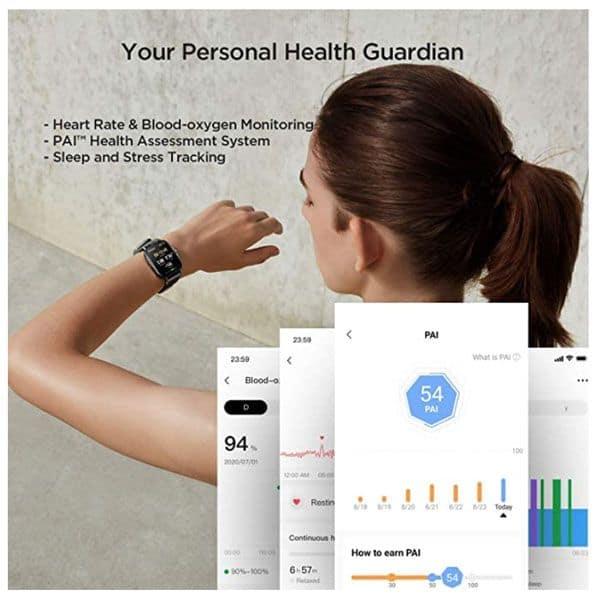 Amazfit GTS 2 health features