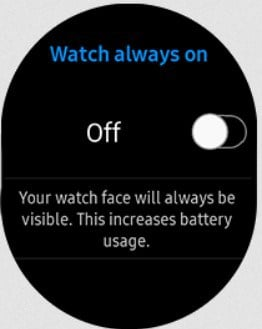 How to increase battery life on galaxy watch 3