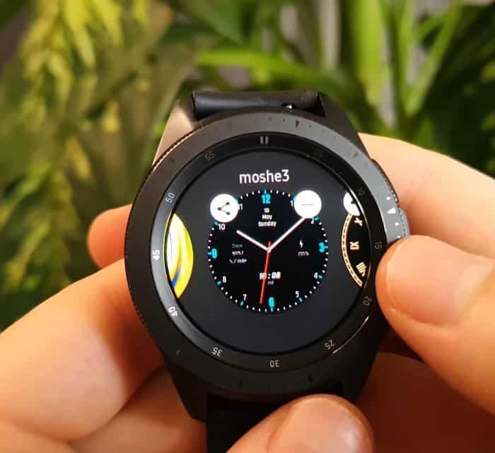 Galaxy watch 3 watch face