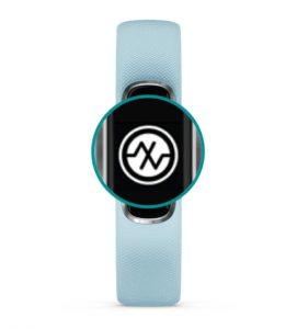 Pulse OX SPO2 symbol on Garmin Vivosmart