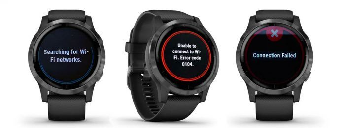 WiFi problems and issues connecting with Garmin watches