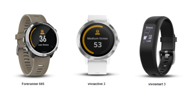Garmin Watches with Stress Monitoring feature