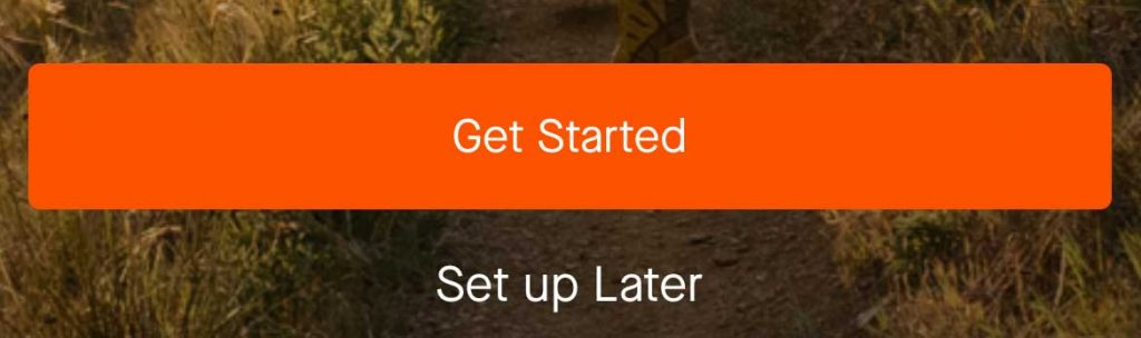 Start setting up Strava's Apple Watch app via your iPhone's Strava app