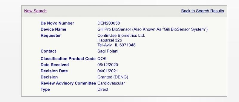 Gili contactless biometrics monitoring