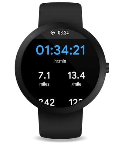 Google fit for wearOS