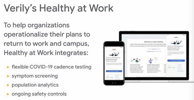 Google Verily and health