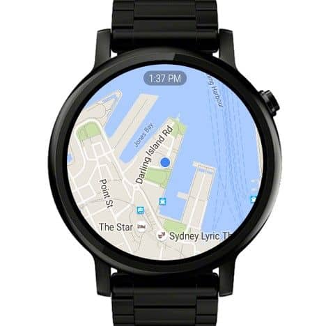 Google Maps wearOS