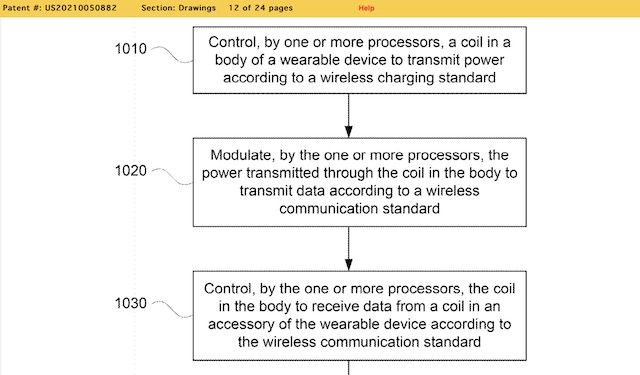 inductive charging for wearables google